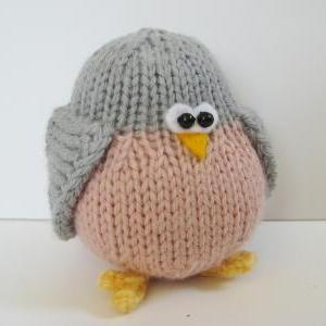 Juggle birdies toy knitting pattern..