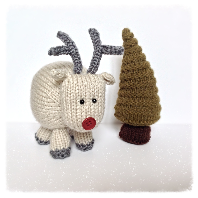 Ren The Reindeer Toy Knitting Patterns On Luulla
