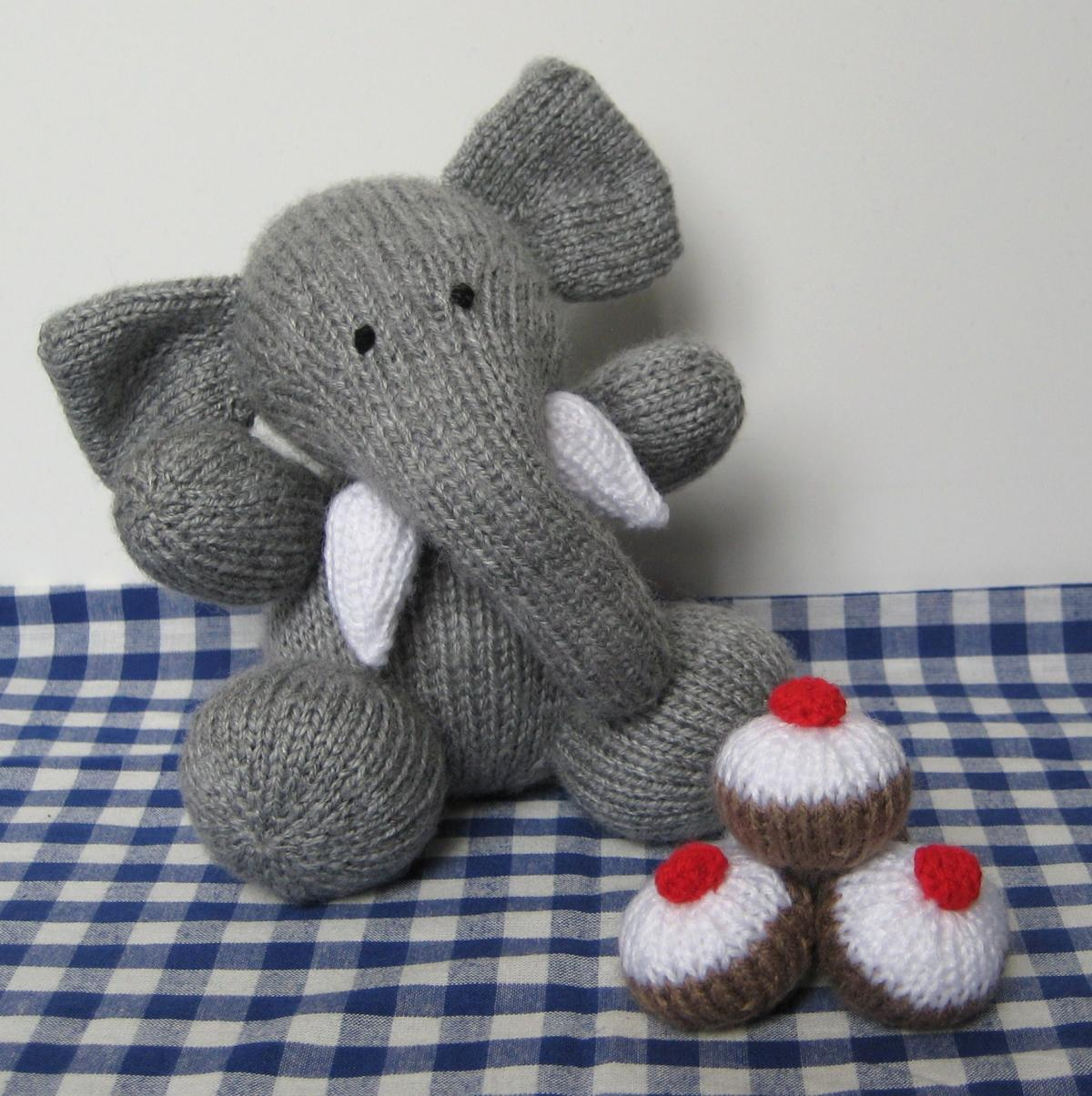 Bloomsbury elephant toy knitting pattern on luulla bloomsbury elephant toy knitting pattern bankloansurffo Image collections