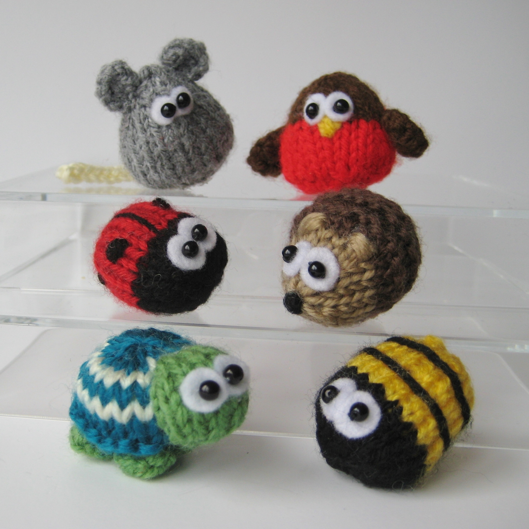 Teeny Toy Animal Knitting Patterns On Luulla